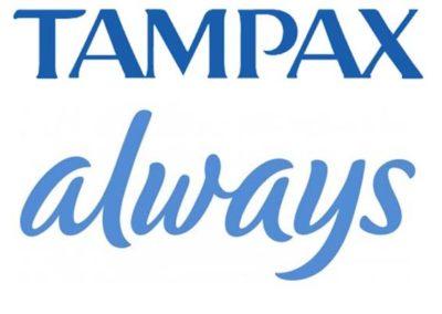logo tampax
